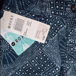 NWT! Roxy RG EMMY PRINTED BLUE
